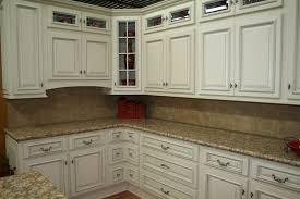 White Distressed Kitchen Cabinets Antique White Distressed Cabinets Roselawnlutheran
