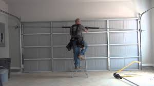 16x7 garage door install