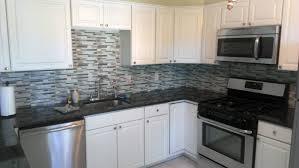 kitchen glass backsplash. Seaville Kitchen Glass Backsplash - Grock Cabinetry \u0026 DesignGrock Design A