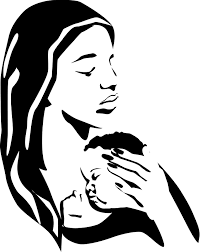 Make Demotivator With Mother Holding Baby Clipart
