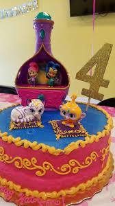 Birthday Cake Sims 4 Outdoor Decoration Shimmer Shine Cake