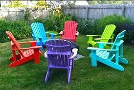 recycled plastic adirondack chairs. Adirondack Plastic Chairs Chair Ottoman Recycled A