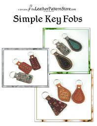 image 0 leather craft patterns to free pattern simple key fob for leather bag patterns