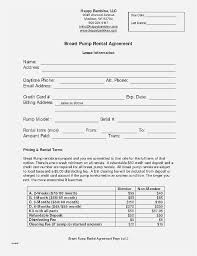Land Rental Lease Agreement Nice Rent Lease Agreement Simple