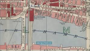 old maps of london early twentieth century london maps