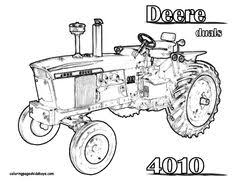 Small Picture John Deere 8430 Tractor Coloring Page You Can Print Out and Color