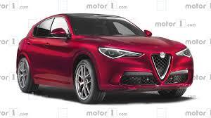 Alfa Romeo Stelvio Fog Lights Alfa Romeo Stelvio Facelift Rendering Shows Minor Tweaks