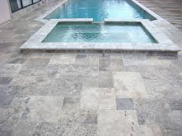 8 x silver travertine tumbled pavers for driveway patio and pool deck silver travertine patio a81 patio