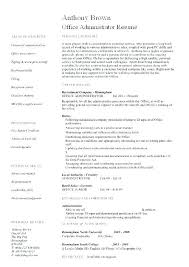 Office Manager Resume Template Interesting Resume Office Manager Office Manager Resume Office Administrator