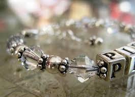 s child bracelet birthday gift swarovski crystal gift for baptism