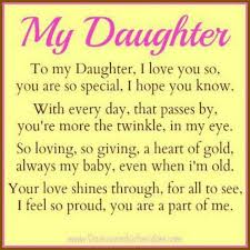 To My Daughter Quotes From Daddy Google Search Sprüche