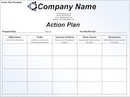 Action Plan Template Business Action Plan Template Action Plan Template