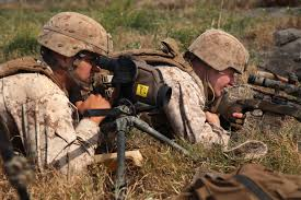 u s department of defense photo essay marine corps cpls danny villagomez left and evan taylor work as a team