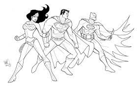 Small Picture Justice League Batman Coloring Pages Coloringstar Coloring