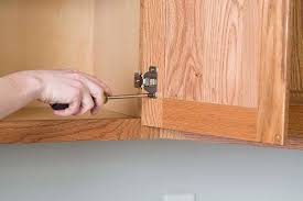 Removing Kitchen Cabinet Hardware For Refinishing Project