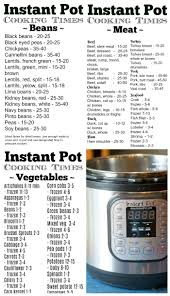 Pressure Cooker Time Chart The Typical Mom
