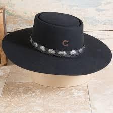 Charlie 1 Horse Black High Desert Hat