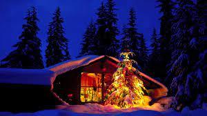 1920x1080 Christmas Night desktop PC ...