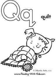 Small Picture Letter Q Coloring Page Quails Worksheets and Animal alphabet