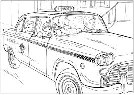 Taxis Coloriages Des Transports