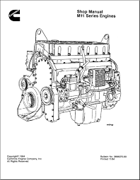 cummins engine series m11