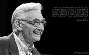 The Boston Globe has confirmed the death of Howard Zinn, the socialist historian and activist who wrote the brilliant People's History of the United States. - howard-zinn