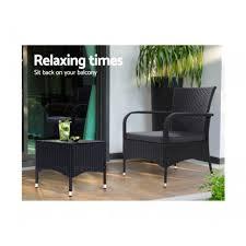 outdoor furniture patio set wicker