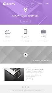 Business Email Template Design Design3edge Com
