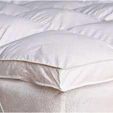 thick mattress topper. Luxury 2 Inch Thick Supersoft Heavy Fill Microfibre Mattress Topper E