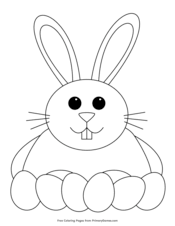 Search images from huge database containing over 620,000 coloring pages. Easter Coloring Pages Free Printable Pdf From Primarygames