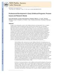 First Light Early Learning Center Pdf Professional Development In Early Childhood Programs