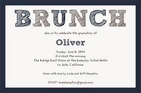 Graduation Lunch Invitation Wording Graduation Brunch Invitation Paperworkshop Pinterest