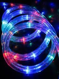 multi colour led tube rope light 30m the christmas warehouse christmas rope lighting86 christmas