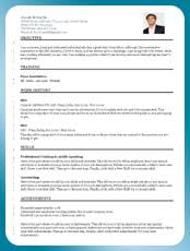 Resume Template Preview 1  Resume Template Preview 2 ...