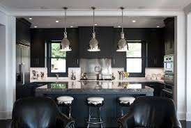 Luxury Black Kitchen Cabinets 55 With Additional Home Decoration Ideas  Designing with Black Kitchen Cabinets