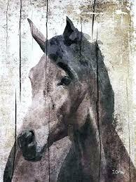 large horse wall art horse canvas wall art horse extra large horse unique horse wall decor