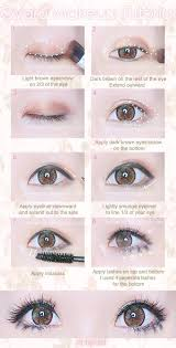 makeup eyes and look image