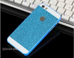 Iphone 5s Case Blue : Phone case shiny glitter cases for iphone s