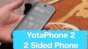 Yotaphone 2 First Look At Worlds First Phone With Two Fronts