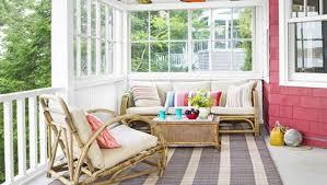 the porch furniture. Porch Decorating Ideas The Furniture B