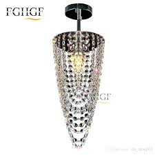 small black chandelier crystal chandeliers aisle hallway mini light lamp for ceiling corridor crysta small black chandelier