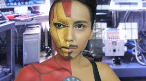 iron man makeup save