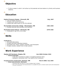 Resume Objective Examples For Retail Retail Resume Objective Simple Cv Objective Examples Sales Gorgeous