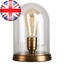 glass dome table lamp tap to expand