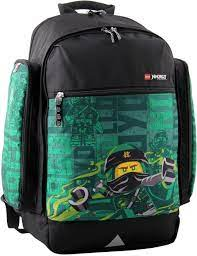 LEGO Bags Lego Bags Venture School Rucksack 750 g School Bag with Lego  Ninjago Motif School Rucksack 44 cm 22.5 Litres Energy: Amazon.de: Luggage