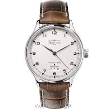 17 best images about german watches stainless steel davosa men s classic triple date automatic watch