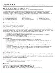 Restaurant General Manager Resume Awesome 77 Awesome Hotel General
