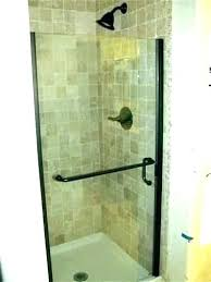 installing a stand up shower shower doors for stand up shower shower door leak shower doors