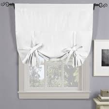 Curtain rods for small windows Curved White Soho Triplepass Thermal Insulated Blackout Curtain Rod Pocket Tie Up Shade For Occycorg Soho Triplepass Thermal Insulated Blackout Curtain Rod Pocket Tie