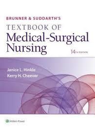Brunner Suddarth 12 Edition Test Bank Brunner Suddarth S Textbook Of Medical Surgical Nursing 14th Edition
